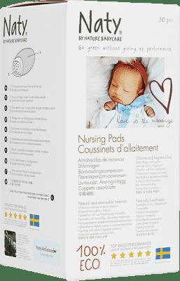 ca6cae0fc NATY NATURE BABYCARE PRSNÍ VLOŽKY do podprsenky (30 ks) | Feedo.cz