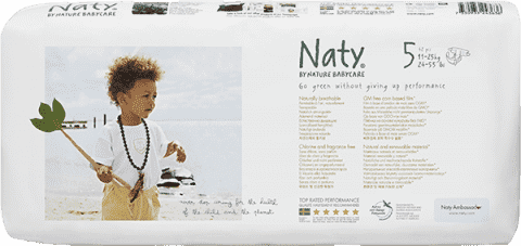 NATY NATURE BABYCARE 5 JUNIOR (11-25 kg), 42 ks ECONOMY PACK - jednorázové pleny