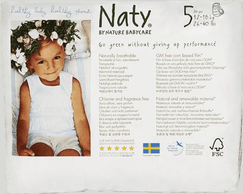 NATY NATURE BABYCARE PANTS 5, 20 ks (12-18 kg) - plienkové nohavičky