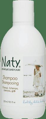 NATY NATURE BABYCARE ECO detský šampón 250 ml