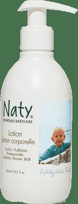 NATY NATURE BABYCARE ECO detské telové mlieko, 250 ml