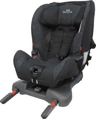 AXKID Duofix autosedačka 9 - 25 kg s Isofixem (obousměrná) Navy/Tetris