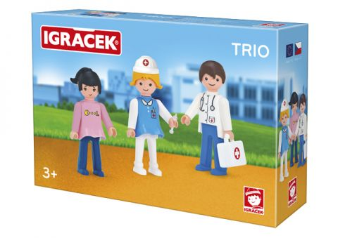 IGRÁČEK Trio – Léčíme