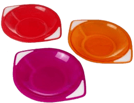 CANPOL Babies Sada troch misek- ružová