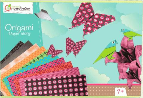 AVENUE MANDARINE Zestaw do origami 1