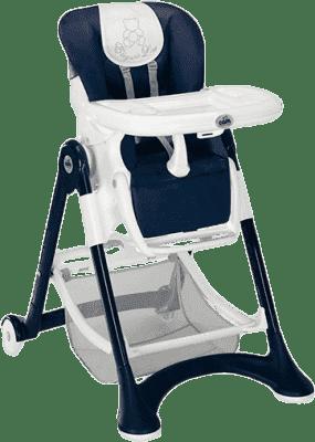 CAM CAMpione Jedálenská stolička ELEGANT - modrá