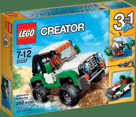 LEGO® Creator Expediční vozidla