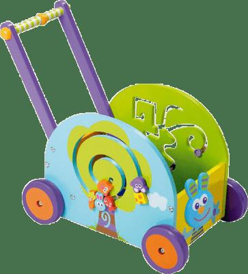 BOIKIDO dřevěný Můj první vozík Zajíček