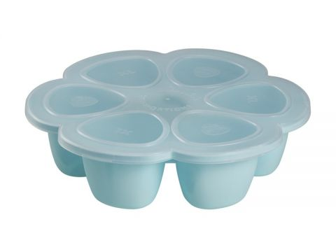 6x BEABA Multi-dávkovač na jídlo 150 ml, modrá