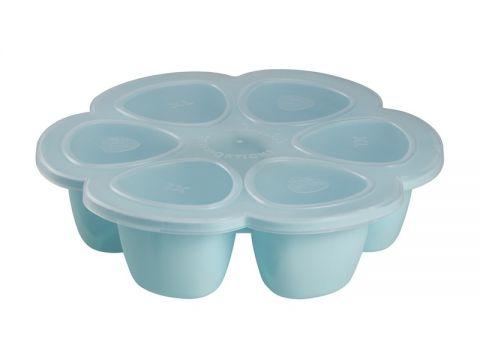 6x BEABA Multi-dávkovač na jedlo 150 ml, modrá