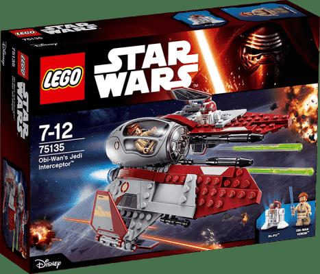 LEGO® Star Wars TM Obi-Wan's Jedi Interceptor™ (Obi-Wanova Jedijská stíhačka)