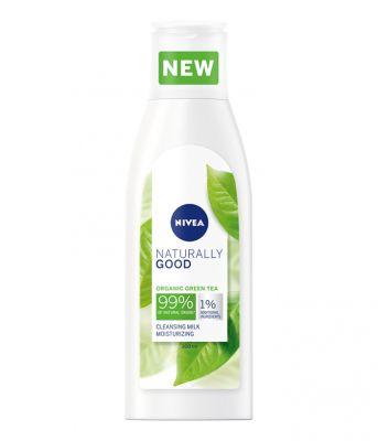 NIVEA Naturally Good Čisticí pleťové mléko 200 ml