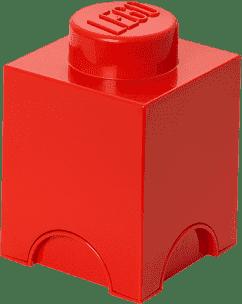 LEGO® Úložný box veľkosť 1 červená