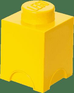 LEGO® Box do przechowywania rozmiar 1 żółty