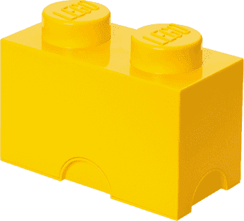 LEGO® Úložný box velikost 2 žlutá