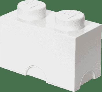 LEGO® Úložný box velikost 2 bílá