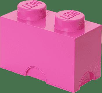 LEGO® Box do przechowywania rozmiar 2 różowy