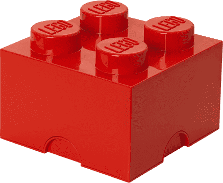 LEGO® Úložný box velikost 3 červená