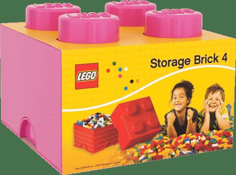LEGO® Box do przechowywania rozmiar 3 różowy