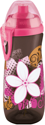 NUK First Choice Fľaša Sports Cup, PP, 450 ml, silikón push-pull náustok (36+ m) – ružová
