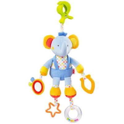 NUK Pool Party Zabawka z klipsem – słonik