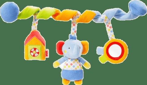 NUK Pool Party Zabawka spirala – słonik