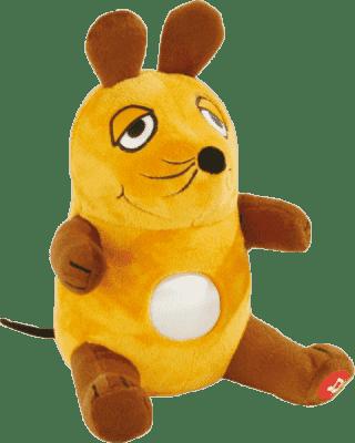 ANSMANN Plyšové zvířátko se světýlkem Die Maus – Uspávací myška