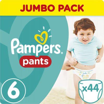 PAMPERS Pants 6, 44ks (16+ kg) JUMBO Pack - plienkové nohavičky