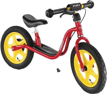 PUKY Odrážadlo s brzdou Learner Bike LR 1 BR, červené