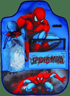 KAUFMANN Chránič sedadla s kapsami Spiderman