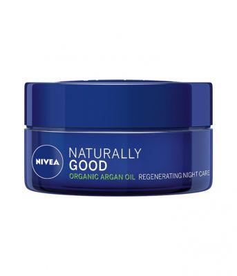 NIVEA Naturally Good Regenerační noční krém 50 ml