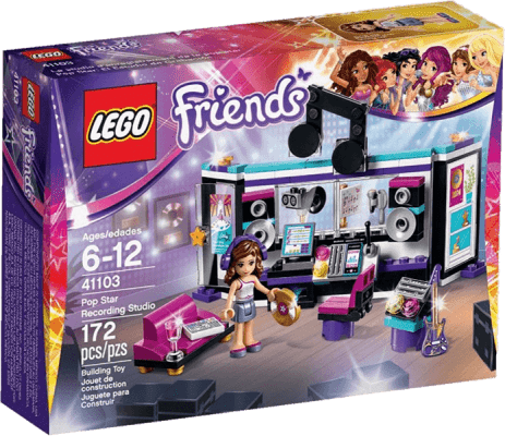 LEGO® Friends Studio nagrań gwiazdy Pop
