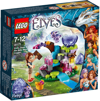 LEGO® Elves Emily Jones a mládě větrného draka