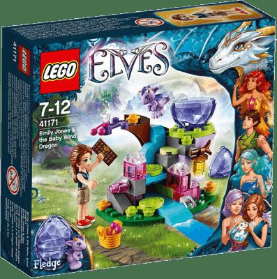 LEGO® Elves Emily Jones i mały Smok Wiatru