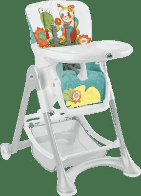 CAM Jídelní židlička Campione - barevná zvířátka