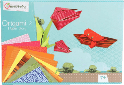 AVENUE MANDARINE Sada na origami 2