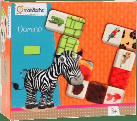 AVENUE MANDARINE Dětská hra Domino Zvířátka
