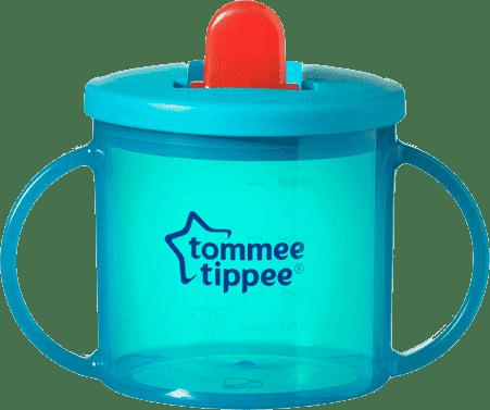TOMMEE TIPPEE Hrnček dvojuchý pre najmenších Basic-modrá