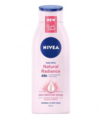 NIVEA Natural Radiance Tělové mléko 400 ml