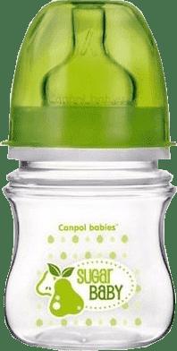 CANPOL Babies Láhev EasyStart jednobarevná 120ml bez BPA kluk