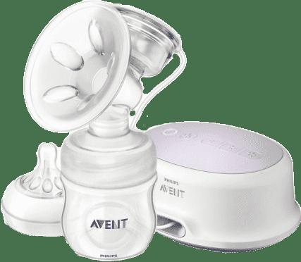 AVENT Elektronická odsávačka mateřského mléka Natural + zásobník 125 ml