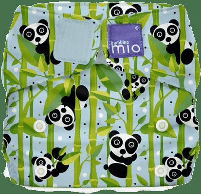 BAMBINO MIO Materiałowa pieluszka all in one - Miosolo Pandamonium