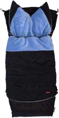 AESTHETIC Fusak City 3v1 Sport - čierna/modrá morská