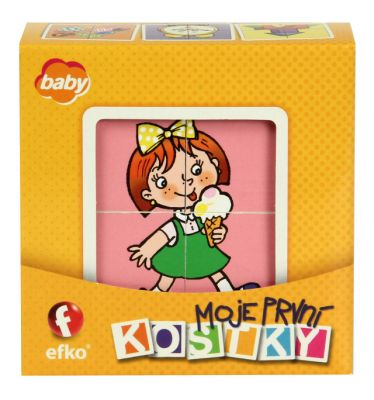 EFKO Moje pierwsze klocki – Dziewczynki BABY