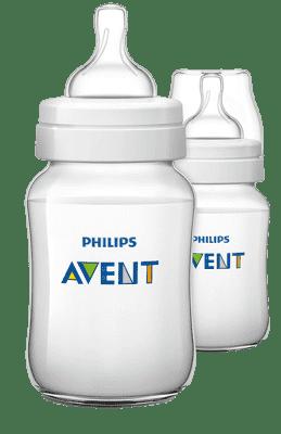 AVENT Dojčenská fľaša Classic+ 260 ml (PP), 2 ks