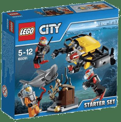 LEGO® City Deep Sea Explorers Hlubinný mořský výzkum: startovací sada