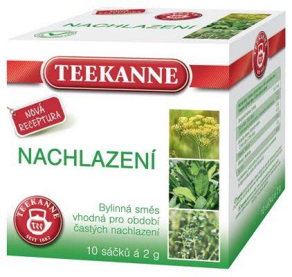 TEEKANNE bylinný čaj - nachlazení, 10 sáčků