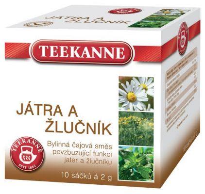 TEEKANNE bylinný čaj - játra a žlučník, 10 sáčků