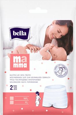 BELLA MAMMA Síťované kalhotky  XL (2 ks)