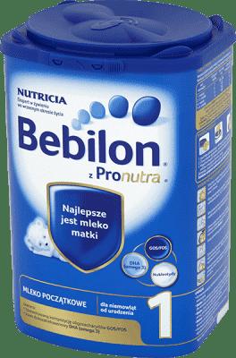 BEBILON Pronutra+ 1 (800 g) – Mleko początkowe od urodzenia